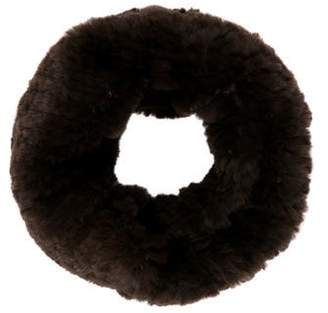 Yves Salomon Knitted Fur Muffler w/ Tags