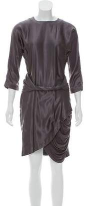 Preen Line Silk Dolman Dress