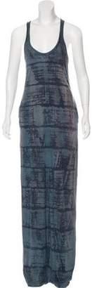 Raquel Allegra Printed Racerback Maxi Dress