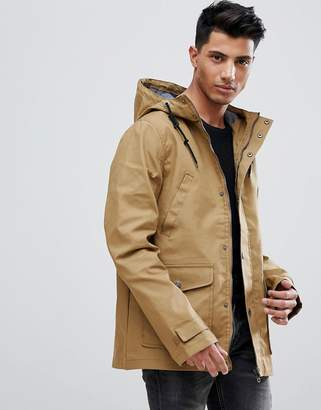 Threadbare Hooded Coat With Toggles