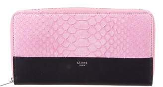 Celine Python Zipped Multifunction Wallet