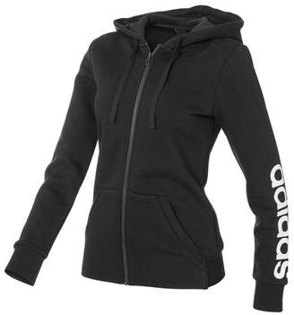 adidas Women's Essentials Full Zip Linear Hoodie
