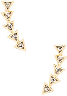 gorjana Vivienne Ear Climber in Metallic Gold. $40 thestylecure.com