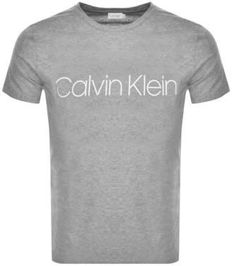 Calvin Klein Logo T Shirt Grey