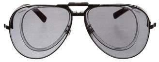 Ralph Lauren Interchangeable Aviator Sunglasses