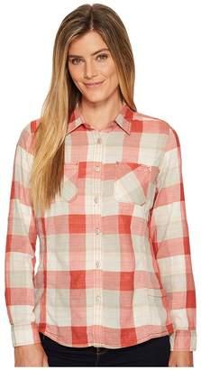 Woolrich Conundrum Eco Rich Convertible Shirt Women's Long Sleeve Button Up