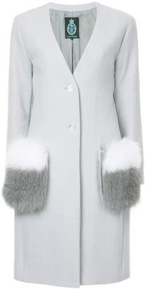 GUILD PRIME furry pockets coat