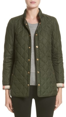 Women's Burberry Pensham Quilted Jacket $795 thestylecure.com