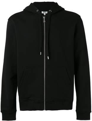 Kenzo embroidered hooded jacket