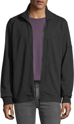 Stone Island Men's Zip-Front Sweatshirt