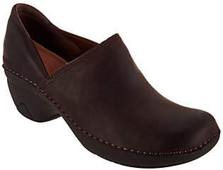 Merrell Water Resistant Leather Slip-On Shoes -Emma Leather