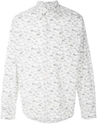 Marni bicycle print shirt