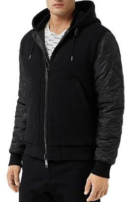 Burberry Demford Reversible Diamond Quilted Hooded Jacket