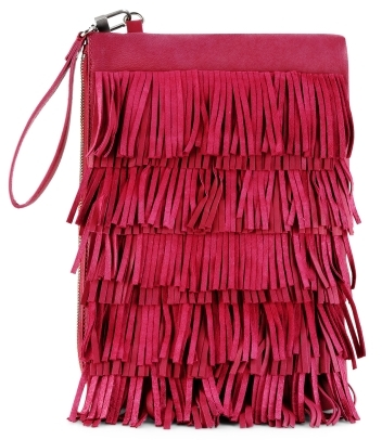 Fringe Kiss Clutch