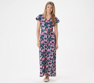 Brooke Shields Timeless BROOKE SHIELDS Timeless Petite Short-Sleeve Maxi Dress
