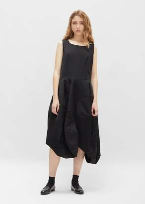 Comme des Garcons Wool Barathea Asymmetrical Dress