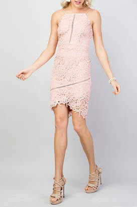 Pretty Little Things Squared Lace Dress