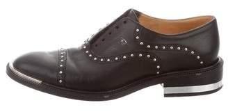 Barbara Bui Studded Leather Oxfords