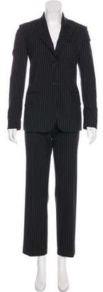 Michael Kors Virgin Wool-Blend Pantsuit