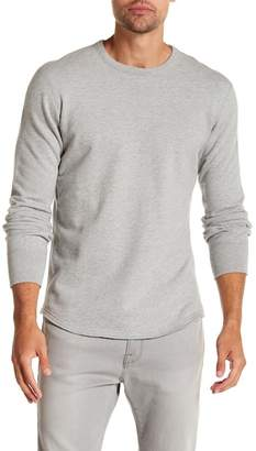 Reigning Champ Scalloped Crew Neck Pullover