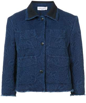 Sonia Rykiel cropped denim jacket