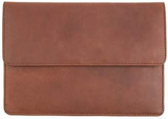 MAHI Leather - Leather Travel Document Wallet in Vintage Brown