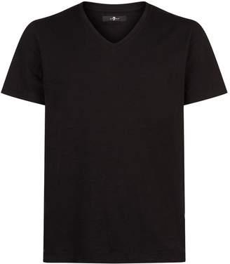 7 For All Mankind V-Neck T-Shirt