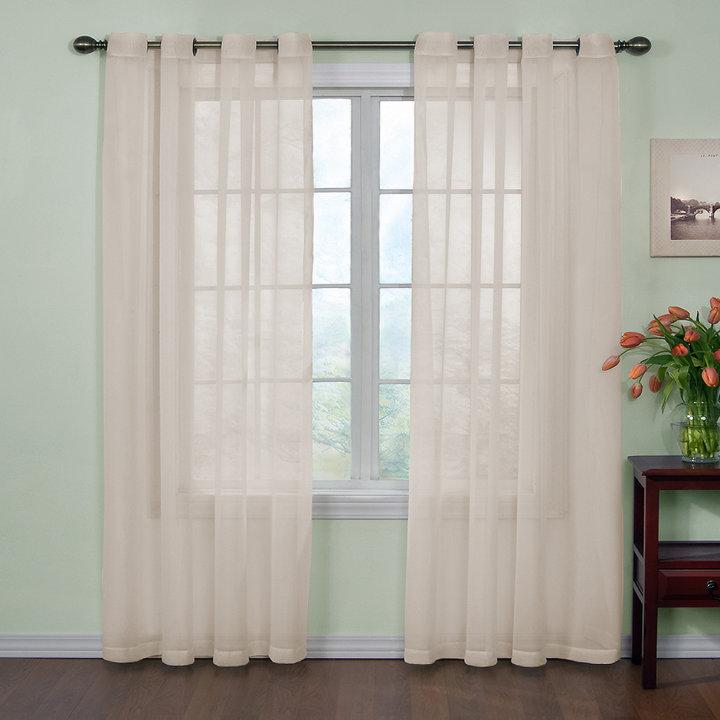 Arm and HammerTM Curtain FreshTM Odor Neutralizing Sheer Curtain Panels
