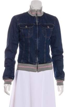 Dolce & Gabbana Wool-Lined Denim Jacket
