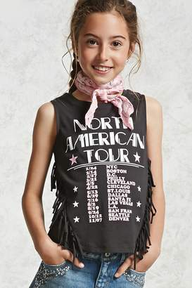 Forever 21 Girls Graphic Tank Top (Kids)
