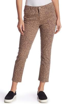 Democracy High-Rise Animal Print Skinny Jeans (Petite)