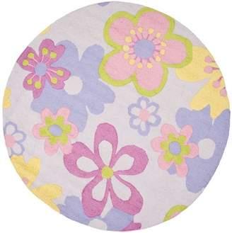 Viv + Rae LeVar Hand-Tufted Pink/Purple Area Rug Rug