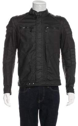 Belstaff Vegan Leather Biker Jacket