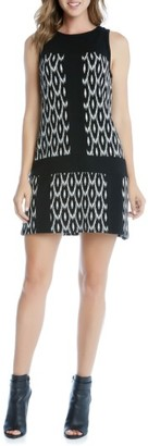 Women's Karen Kane Go-Go Knit A-Line Dress $118 thestylecure.com