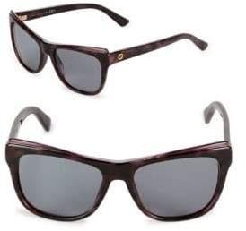 Gucci Tinted 52MM Cat Eye Sunglasses