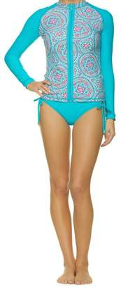 Helen Jon Rash Guard Swim Shirt