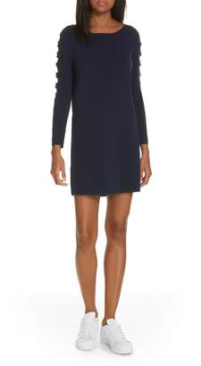 Milly Scallop Sleeve Shift Dress