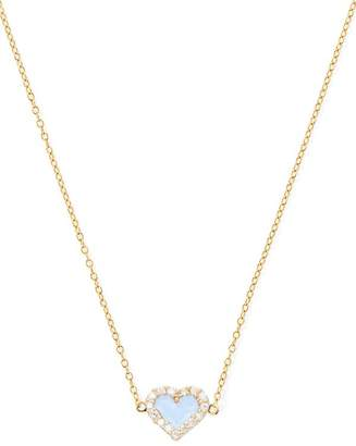 Alison Lou Heart Diamond Necklace