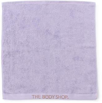The Body Shop (ザ ボディショップ) - ザ・ボディショップ オーガニックコットンハンドタオル ライラック