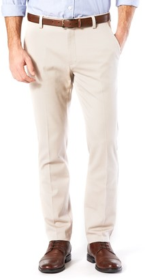 Dockers Men's Easy Khaki D1 Slim Tapered Stretch Flat-Front Pants