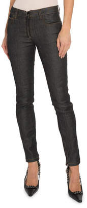 Tom Ford Skinny Jeans with Leather Detail
