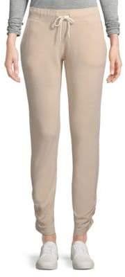 Monrow Shirred Jogger Pants