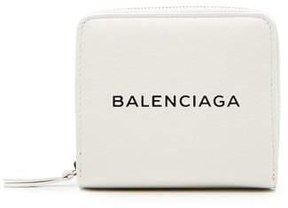 Everyday Logo Zipped Wallet