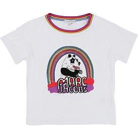 Little Marc Jacobs Sweet Neon Short Sleeves Tee-Shirt(6-10 Years)