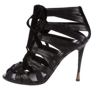 399b7335f63 Pre-Owned at TheRealReal · Tom Ford Leather Cage Sandals