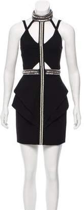 Sass & Bide Embellished Cutout Dress