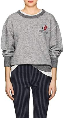 "Rag & Bone Women's ""Daytona"" Cotton Terry Sweatshirt"