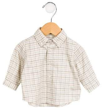 Ralph Lauren Boys' Checked Button-Up Shirt w/ Tags