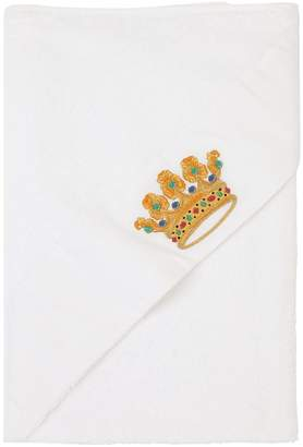 Loretta Caponi Hand-Embroidered Hooded Towel