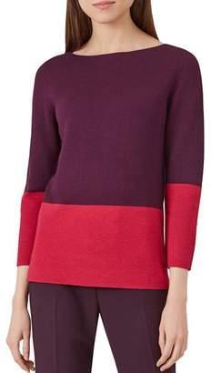 Hobbs London Cesci Color-Block Sweater